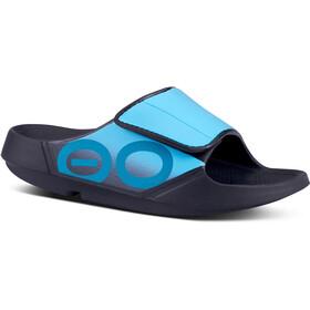 OOFOS Ooahh Sport Sandalen, turquoise